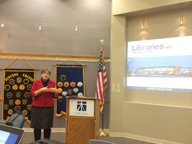 1/14 Speaker: Pat Leach – Executive Director of the Lincoln City Libraries
