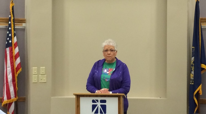 4/1 Speaker: Pat Yahnke, American Cancer Society Relay for Life