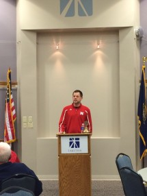 Andy Vaughn - Director of Football Operations and Recruiting at UNL